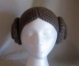 Princess Leia Beanie - Front View