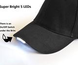 UltraKey Hands Free LED Baseball Cap