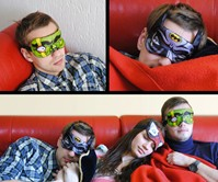 Heroes Never Sleep Sleep Masks