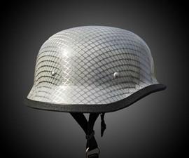 Carbon Fiber & Kevlar Motorcycle Helmet
