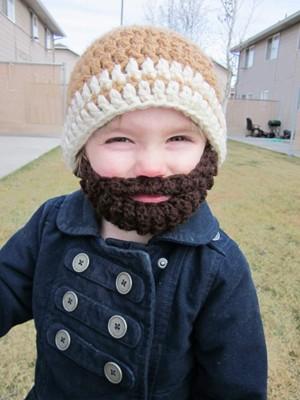 Kids Ultimate Bearded Beanie