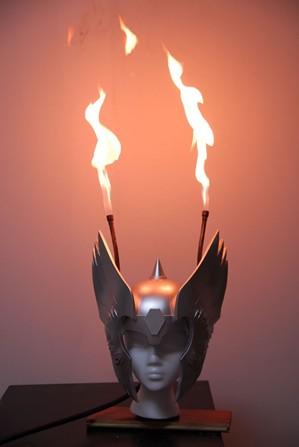 Flaming Thor Helmet