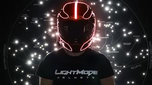 LightMode Bike Helmet EL Kits