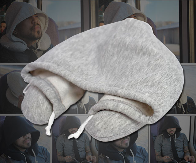 Travel Hoodie Pillow