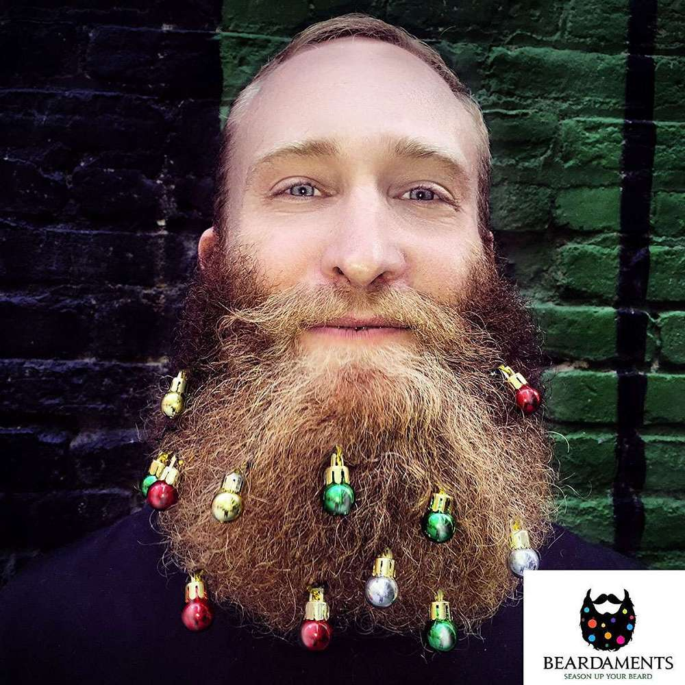 Beardaments - Beard Ornaments | DudeIWantThat.com Beard Ornaments