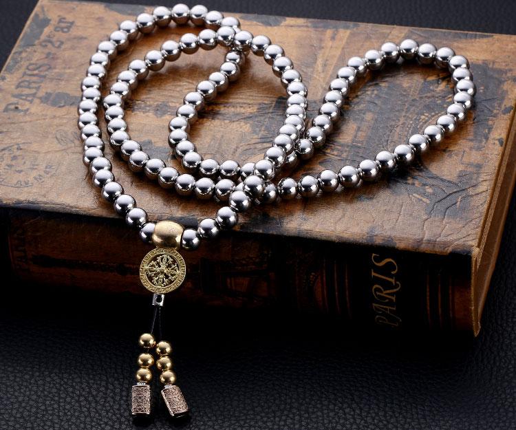 Buddha Beads Self Defense Necklace Dudeiwantthat Com