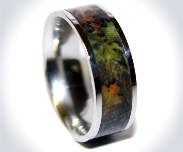 camo titanium ring - Camo Wedding Rings For Him
