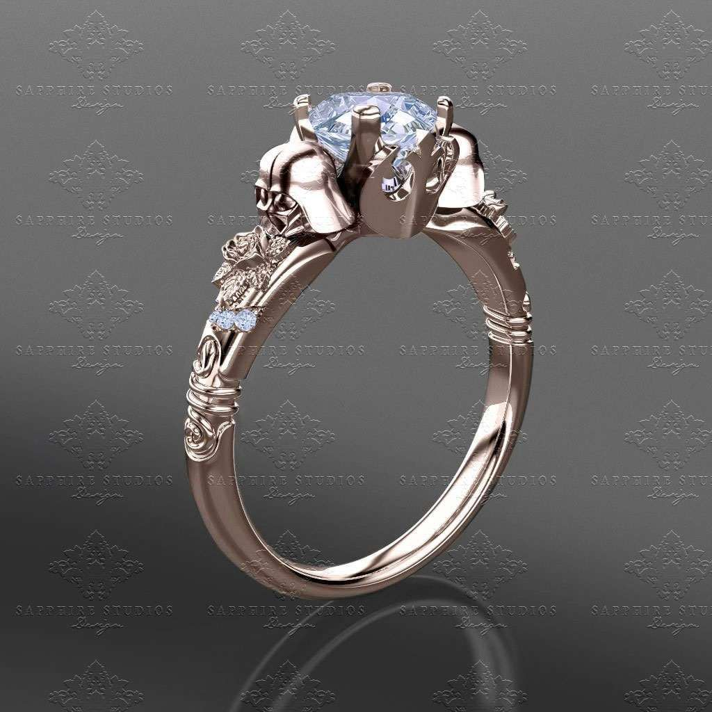Star Wars Wedding Rings: Darth Vader Engagement Ring
