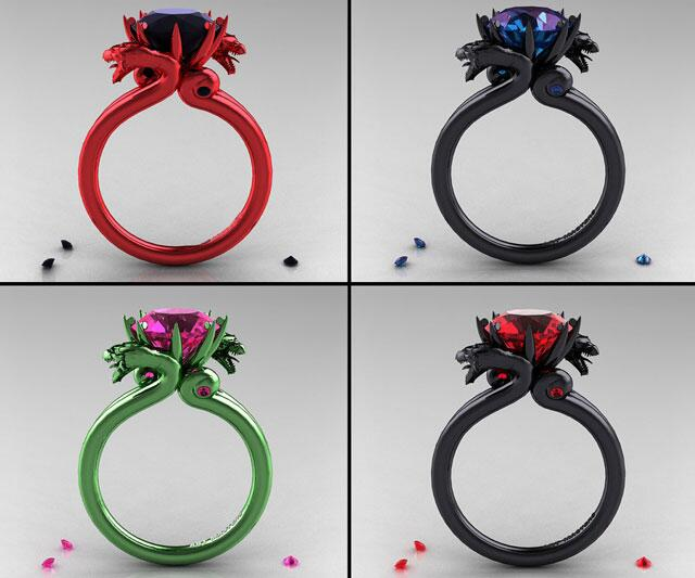 Dragon Wedding Rings 74 Vintage Dragon Rings