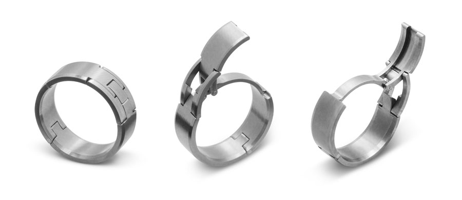Mens Platinum Wedding Ring Mm