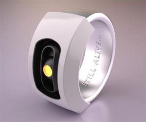 Portal GLaDOS Ring
