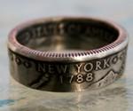 New York State Quarter Ring