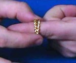 Optical Illusion Growing/Shrinking Ring