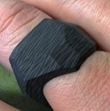 Dark Matter Solid Carbon Fiber Ring