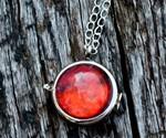 Diablo Health Orb Necklace