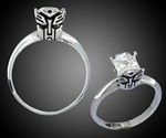Transformers Engagement Rings
