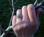 Triforce Claddagh Ring