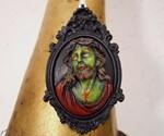 Zombie Jesus Pendant