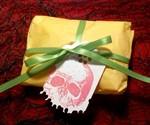 Zombie Jesus Pendant Packaging