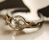 Angel Ring - Jewel at Inside