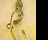 Bronze Elfin Dragon Ear Wrap