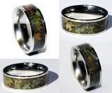 Camo Titanium Ring