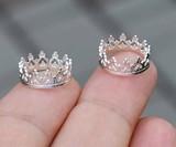 Crown Nipple Rings (NSFW)