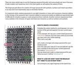 Enigmaze Internet Password Bracelet