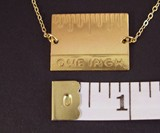 Give Me An Inch - Real Inch Ruler Necklace