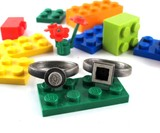 Interlocking LEGO Rings