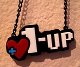 Mario 1-Up Necklace