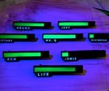 Personalized Glowing Life Bar Pin