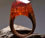 Secret Wood Rings