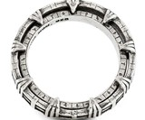 Stargate Sterling Spinner Ring