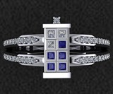 TARDIS Wedding Ring