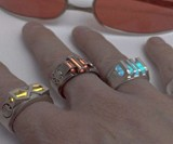 The Rings of the Gauntlet of Power