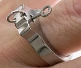 Titanium Handcuff Ring