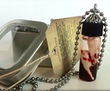 Vampire Hunter Trophy Fang Pendant & Necklace