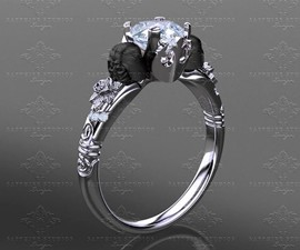 Darth Vader Engagement Ring