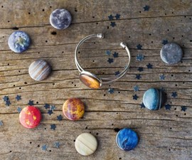 Interchangeable Planets Bracelet