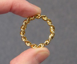 Optical Illusion Growing/Shrinking Ring
