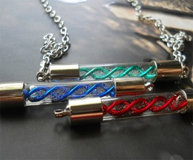 Resident Evil Virus Capsule Jewelry