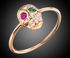 Sydney Evan Skull Ring
