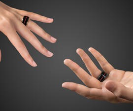 TheTouch Real-Time Heartbeat Rings