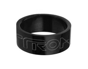 Tron Stainless Steel Black Ring