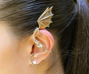 Bronze Elfin Dragon Ear Wrap