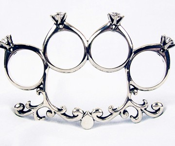 Knuckle Duster Engagement Rings