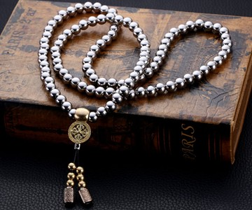 Buddha beads self defense necklace dudeiwantthat buddha beads self defense necklace gumiabroncs Image collections