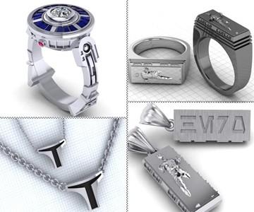 Designer Star Wars Jewelry