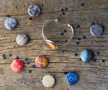 Interchangeable Planets Bracelet